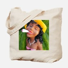 Cute Marijuana birthday Tote Bag