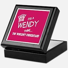Cute Wendy Keepsake Box