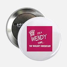 "Cute Wendy 2.25"" Button"