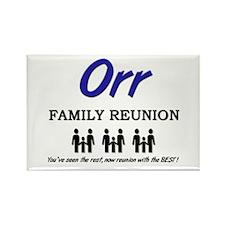 Orr Family Reunion Rectangle Magnet