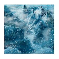 Mountain Scape Tile Coaster