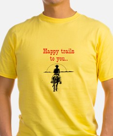 HAPPY TRAILS T