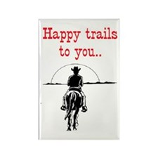 HAPPY TRAILS Rectangle Magnet (10 pack)