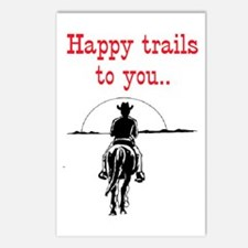 HAPPY TRAILS Postcards (Package of 8)