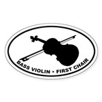 Bass Violin - First Chair Sticker