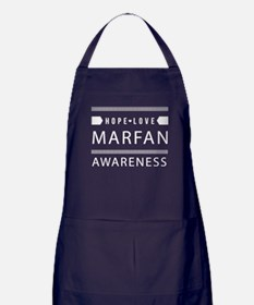 Hope Love Marfan Awareness Apron (dark)