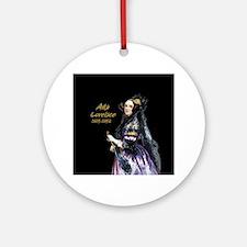 Ada Lovelace Ornament (Round)