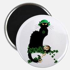 Le Chat Noir, St Patricks Day Magnets