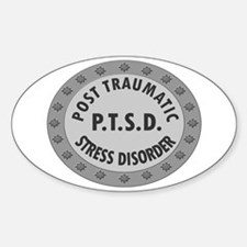 P.T.S.D. BADGES Decal