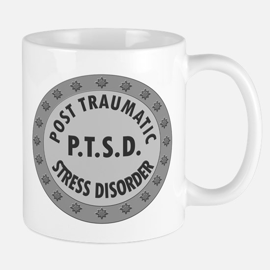 P.T.S.D. BADGES Mugs
