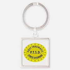 P.T.S.D. BADGES Keychains