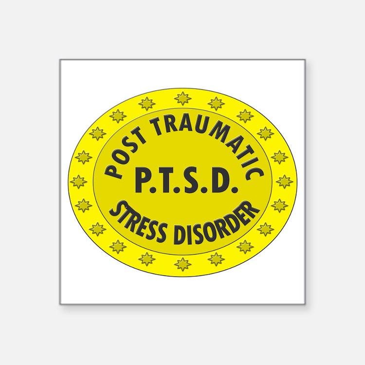 P.T.S.D. BADGES Sticker