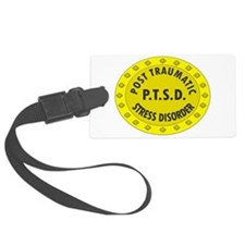 P.T.S.D. BADGES Luggage Tag