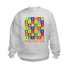 Pop Art Badminton Sweatshirt