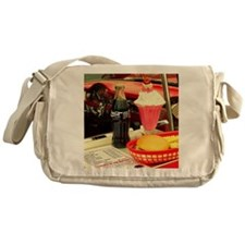 Unique Cheeseburger Messenger Bag