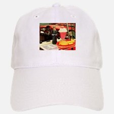 vintage rockabilly burger fries cola sundae mi Baseball Baseball Cap