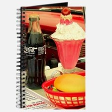 vintage rockabilly burger fries cola sunda Journal