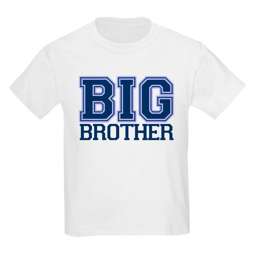 CafePress big brother varsity Kids Light T-Shirt