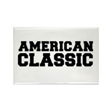 American Classic Black Text Freshman Font Magnets