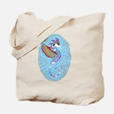 Seahorse blue Tote Bag
