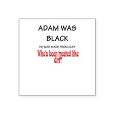 Funny African American religion Sticker