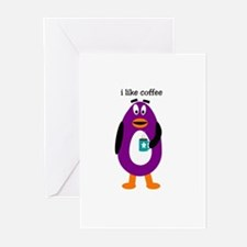 i like coffee Greeting Cards (Pk of 10)