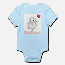 Flying Valentine With Corinthians 13: 4, Body Suit