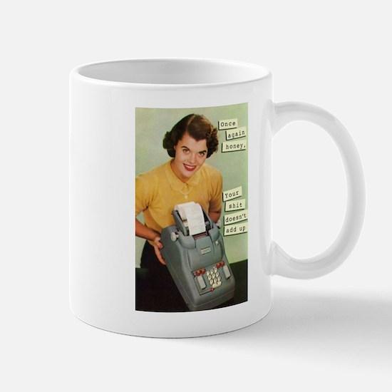 Doesn't add up Mugs
