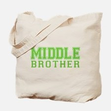 middle brother varsity Tote Bag
