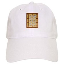Embossed Gold Baseball Cap