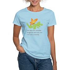 Catterpillar to Butterfly Proverb T-Shirt