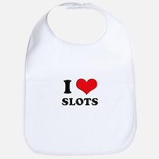 I Love Slots Bib