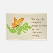 Catterpillar to Butterfly Proverb Magnets