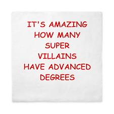 super villians Queen Duvet