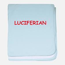 luciferian baby blanket