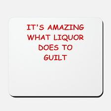 liquor Mousepad