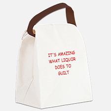 liquor Canvas Lunch Bag