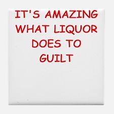 liquor Tile Coaster
