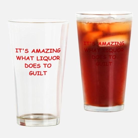 liquor Drinking Glass