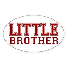 little brother varsity Oval Decal