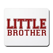 little brother varsity Mousepad