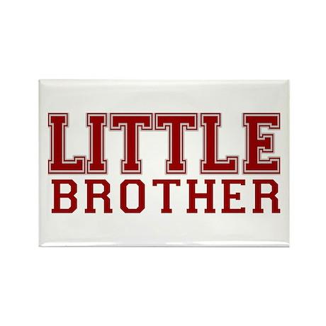 little brother varsity Rectangle Magnet