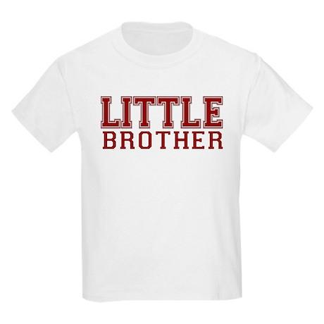 little brother varsity Kids Light T-Shirt