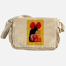 Le Chat Noir Valentine Messenger Bag