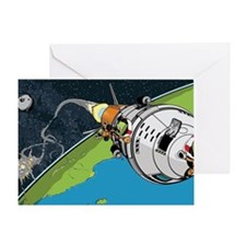 Kerbal Space Program Greeting Card