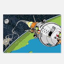 Kerbal Space Program Postcards (Package of 8)