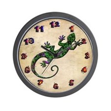 Ivy Green Gecko Wall Clock