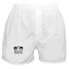 We Are Scouts Changing The World Boxer Shorts