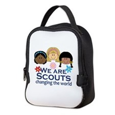 We Are Scouts Changing The World Neoprene Lunch Ba
