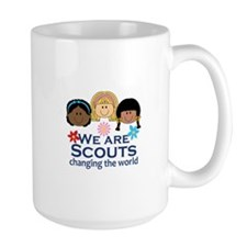 We Are Scouts Changing The World Mugs